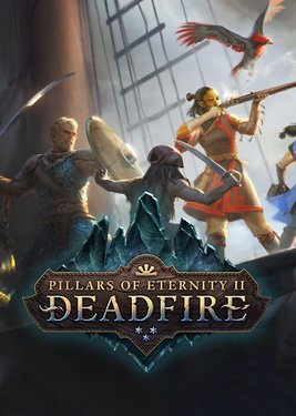 Pillars of Eternity II: Deadfire постер (cover)