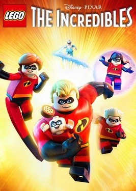 LEGO The Incredibles постер (cover)
