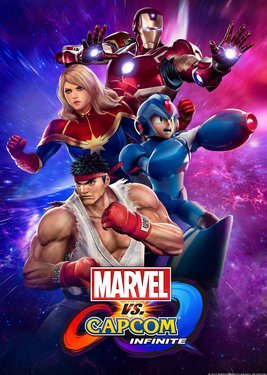 Marvel vs Capcom: Infinite постер (cover)