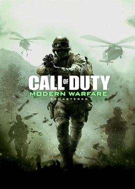 Call of Duty: Modern Warfare Remastered постер (cover)