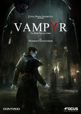 Vampyr постер (cover)
