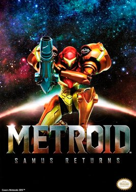 Metroid: Samus Returns постер (cover)