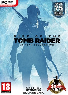 Rise of the Tomb Raider: 20 Year Celebration постер (cover)