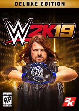 WWE 2K19 - Digital Deluxe Edition постер (cover)