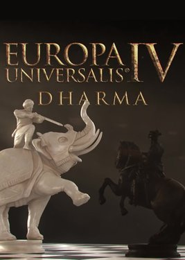 Europa Universalis IV: Dharma постер (cover)