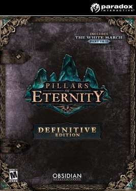 Pillars of Eternity - Definitive Edition постер (cover)