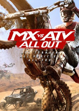 MX vs ATV All Out постер (cover)