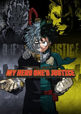 My Hero One's Justice постер (cover)