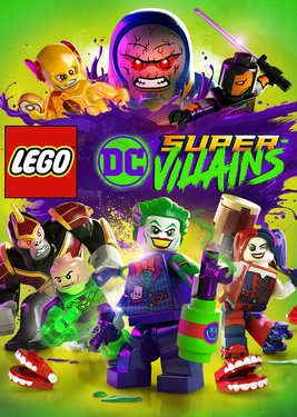 LEGO DC Super-Villains постер (cover)