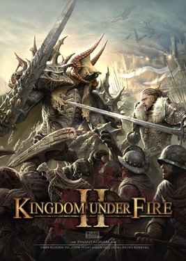 Kingdom Under Fire II постер (cover)