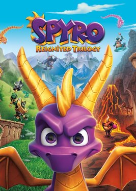 Spyro Reignited Trilogy постер (cover)