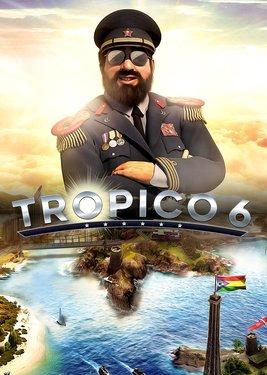 Tropico 6 постер (cover)