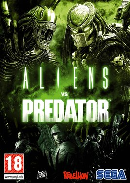 Aliens vs. Predator постер (cover)