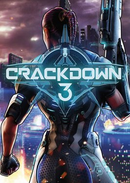 Crackdown 3 постер (cover)