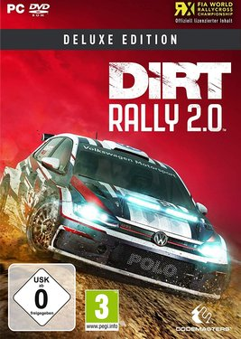 DiRT Rally 2.0 – Deluxe Edition постер (cover)