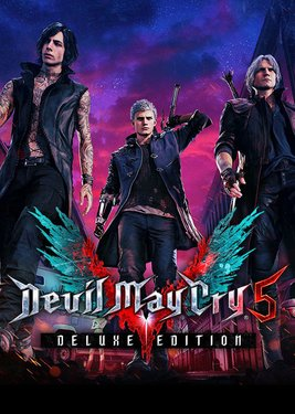 Devil May Cry 5 – Deluxe Editon постер (cover)