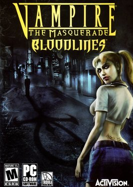 Vampire: The Masquerade - Bloodlines постер (cover)