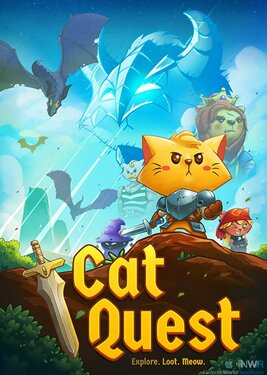 Cat Quest постер (cover)