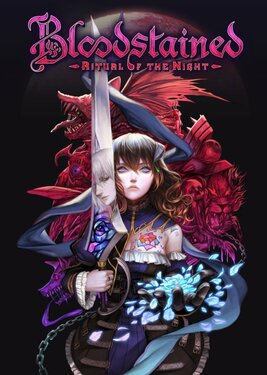 Bloodstained: Ritual of the Night постер (cover)