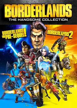 Borderlands: The Handsome Collection постер (cover)
