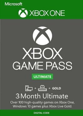Xbox Game Pass Ultimate на 3 месяца