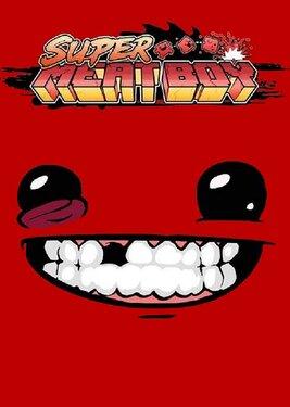 Super Meat Boy постер (cover)