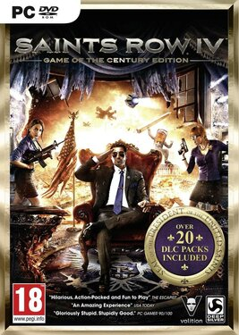 Saints Row IV: Game of the Century Edition постер (cover)