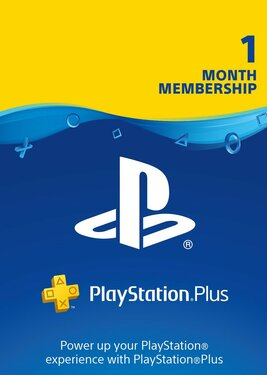 PlayStation Plus - Карта подписки 1 месяц постер (cover)