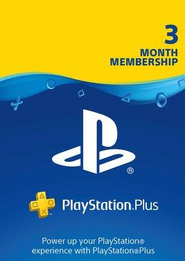 PlayStation Plus - Карта подписки 3 месяца постер (cover)