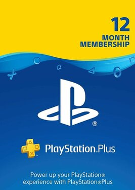 PlayStation Plus - Карта подписки 12 месяцев постер (cover)