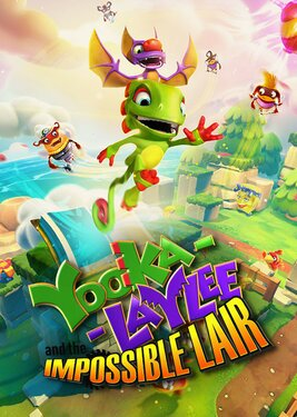 Yooka-Laylee and the Impossible Lair постер (cover)