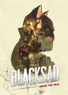 Blacksad: Under the Skin постер (cover)