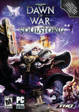 Warhammer 40,000: Dawn of War – Soulstorm постер (cover)