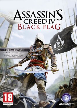 Assassins Creed IV: Black Flag - Special Edition постер (cover)