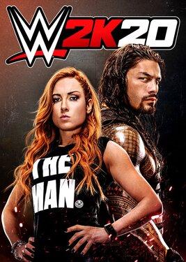 WWE 2K20 постер (cover)