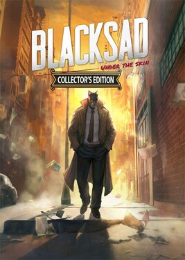 Blacksad: Under The Skin – Collector's Edition постер (cover)