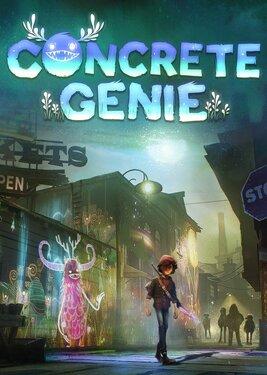 Concrete Genie постер (cover)