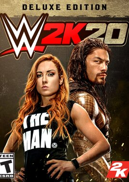 WWE 2K20 - Digital Deluxe постер (cover)