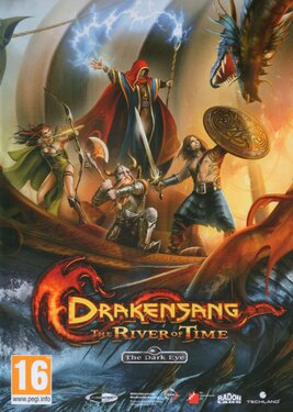 Drakensang: The River of Time постер (cover)