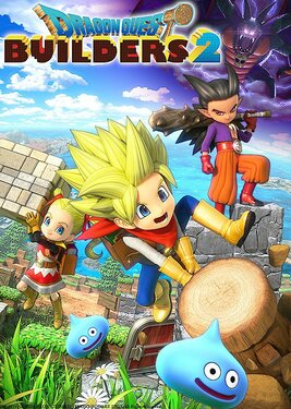 Dragon Quest Builders 2 постер (cover)