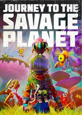 Journey to the Savage Planet постер (cover)