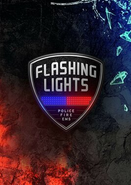 Flashing Lights - Police, Firefighting, Emergency Services Simulator постер (cover)