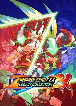 Mega Man Zero/ZX Legacy Collection постер (cover)