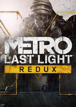 Metro: Last Light Redux постер (cover)