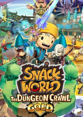 Snack World: The Dungeon Crawl Gold постер (cover)