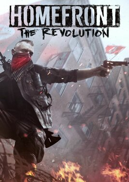 Homefront: The Revolution постер (cover)