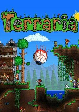 Terraria постер (cover)