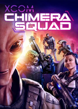 XCOM: Chimera Squad постер (cover)