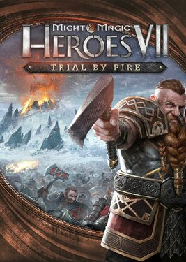 Might and Magic: Heroes VII – Trial by Fire постер (cover)