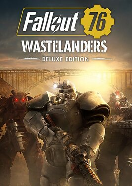 Fallout 76: Wastelanders - Deluxe Edition постер (cover)